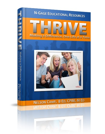 Thrive N-gage educational resources teens drama play counselling teachers educators Nelson Camp dramatherapy at-risk