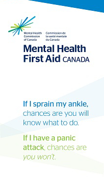 mhfa mental health first aid certificate winnipeg nelson camp n-gageresources #mhfa #cutting #anxiety #depression